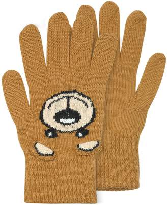 Moschino Teddy Bear Ears Gloves