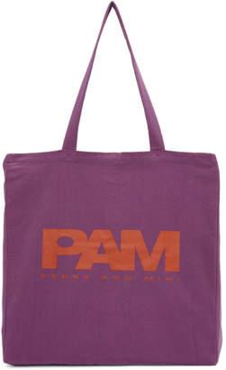 Perks And Mini Purple P.A.Maiden Tote