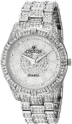 Croton Men's CN307545RHMP Analog Display Quartz Silver Watch