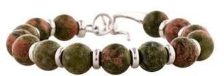 Di Modolo Unakite Beaded Bracelet