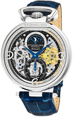 Stuhrling Original Men's Alligator Watch
