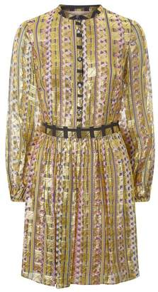 Temperley London Letter Print Mini Dress