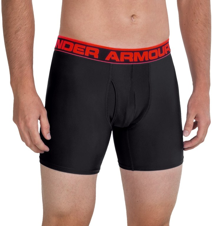 "Under Armour Original Boxerjock Boxer Briefs - 6"" (For Men)"