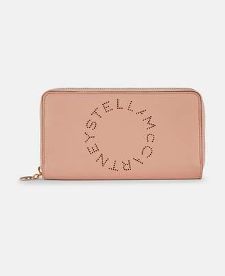 Stella McCartney Stella Logo Zip Around Wallet, Women's