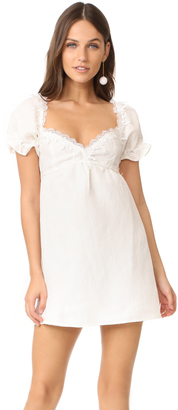 For Love & Lemons Crema Babydoll Dress $259 thestylecure.com