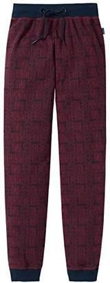 Schiesser Boy's Pyjama Bottoms - Red
