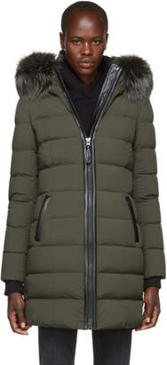 Mackage Green Calla Matte Lighweight Down Coat