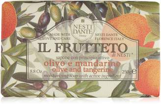 Nesti Dante Il Frutteto Italian Moisturizing and Nourishing Bar Soap, Olive Oil and Tangerine, 250 Grams