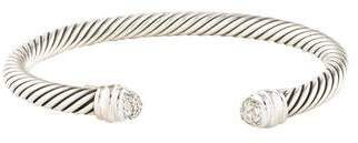 David Yurman Diamond Cable Classics Bracelet