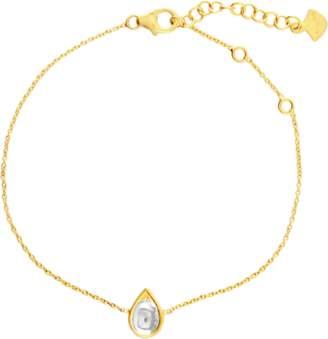 Amrapali Legend Kundan Vintage Diamond Teardrop Bracelet
