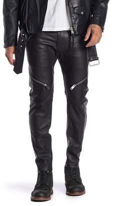 Diesel Yardy Genuine Leather Trousers