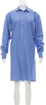 Vetements 2016 Striped Shirtdress