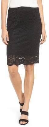 Rosemunde Filippa Scalloped Lace Skirt