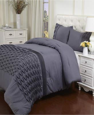 Arabella Superior Collection Wrinkle Resistant Down Alternative 3 Piece Comforter Set