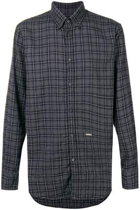DSQUARED2 check long-sleeve shirt