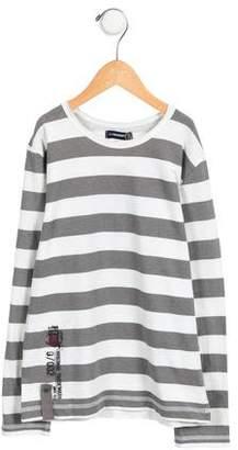 Jean Bourget Boys' Long Sleeve Striped T-Shirt w/ Tags