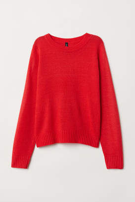 H&M Knit Sweater - Red