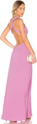 Jill Stuart Deep V Gown