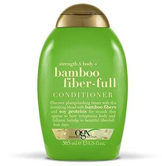 OGX Strength and Body with Bamboo Fiber-Full Conditioner, 385 ml