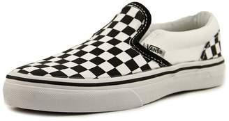 Vans Kids Classic Slip-On (Checkerboard) Skate Shoe 2.5 Kids US