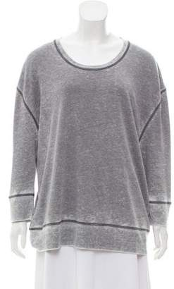 IRO Crew Neck Long Sleeve Sweatshirt