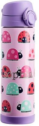 Pottery Barn Kids Large Insulated Water Bottle, Mackenzie Pink/Lavender Ladybug