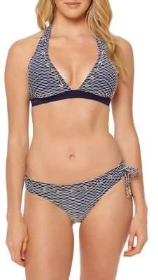 Jessica Simpson Halter Bikini Top