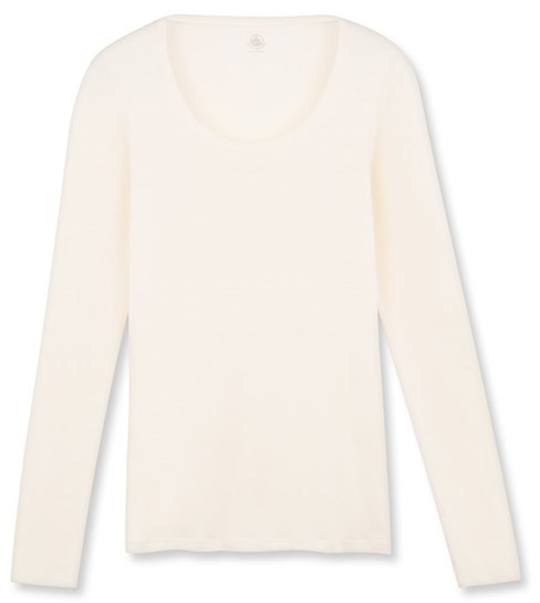 Womens long-sleeved light cotton tee