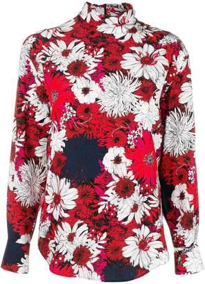 Cédric Charlier floral-print top
