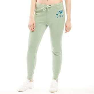 Jack Wills Womens Chatterton Garment Dye Sweat Pants Jade