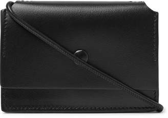 Acne Studios Leather Crossbody Cardholder - Men - Black