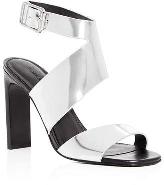 Sigerson Morrison Women's Imala Leather Ankle Strap High-Heel Sandals