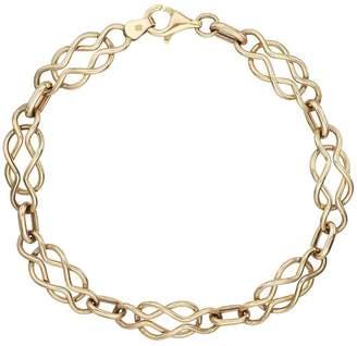 Celtic Love GOLD 9 Carat Yellow Gold Bracelet