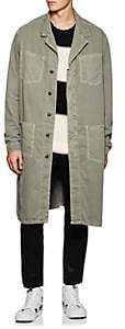 NSF Men's Cotton Twill Long Jacket - Gray