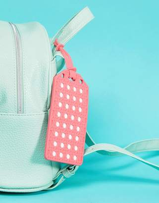 Kate Spade Coral Travel Luggage Tag