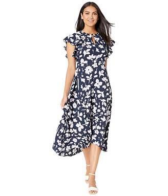 Kate Spade Splash Flutter Sleeve Dress
