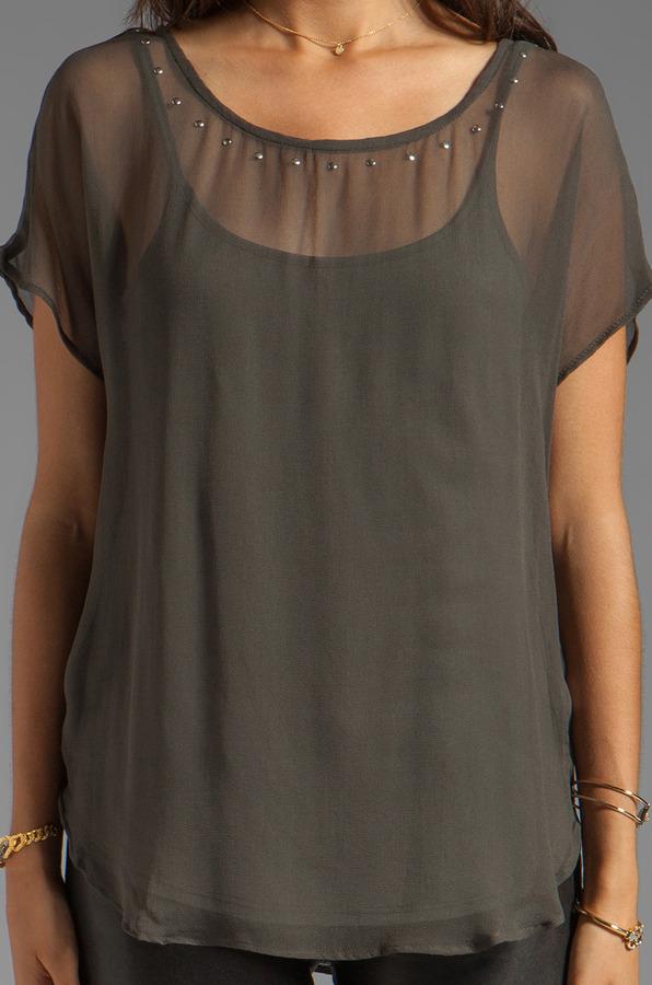 Ella Moss Camilla Short Sleeve Top