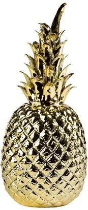 Pols Potten Gold Glazed Porcelain Pineapple