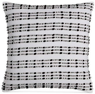 Hotel Collection Linen Plaid Decorative Pillow