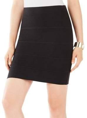 BCBGMAXAZRIA Simone Banded Skirt
