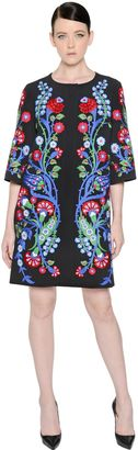 Floral Embroidered Crepe Coat $2,967 thestylecure.com