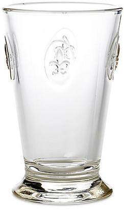 La Rochere Set of 6 Fleur-de-Lis Iced-Tea Glasses