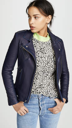 hot products search for authentic highly coveted range of Blue Women's Leather Jackets - ShopStyle