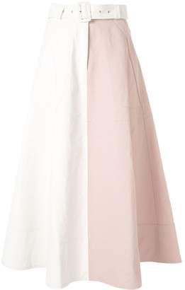 Lee Mathews high waisted long skirt