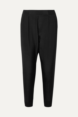 ATM Anthony Thomas Melillo Silk Crepe De Chine Track Pants