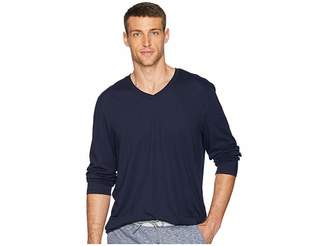 Calvin Klein Long Sleeve Jersey V-Neck T-Shirt