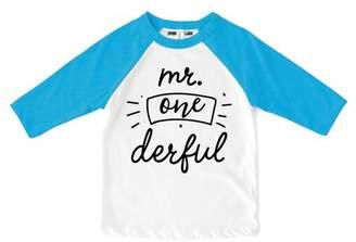 At Walmart Sprinkles And Jam Mr Onederful 1st Birthday Boy Shirt Raglan Outfit