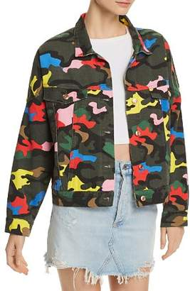 Bloomingdale's Sunset & Spring Sunset + Spring Camo Denim Jacket - 100% Exclusive