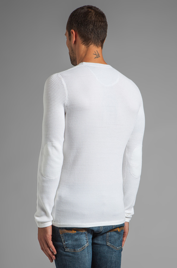 Vince Thermal Crew Neck Sweater
