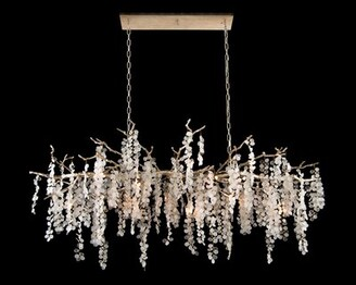 John-Richard Collection Shiro Noda Glass 15-Light Novelty Chandelier